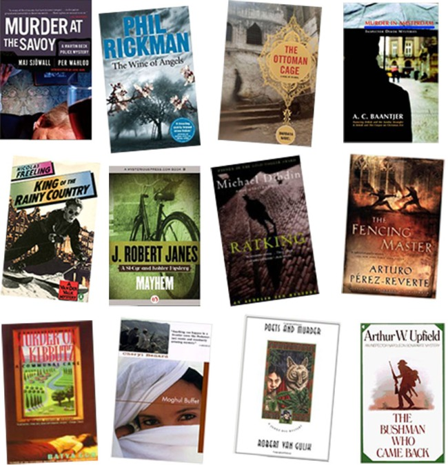 Of course I love Donna Leon (Italy), Elizabeth George (England), Henning Mankell (Sweden) and Tony Hillerman (American Navajo) but I'm rather partial to these lesser-known writers international mystery/thrillers, from all over the world.