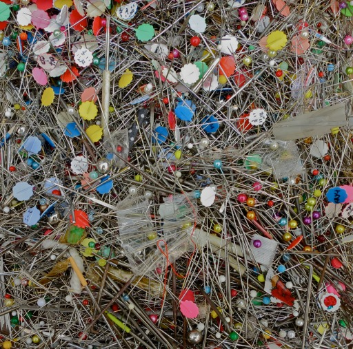 A fraction of the good and faithful pins collected at the harikuyo memorial,