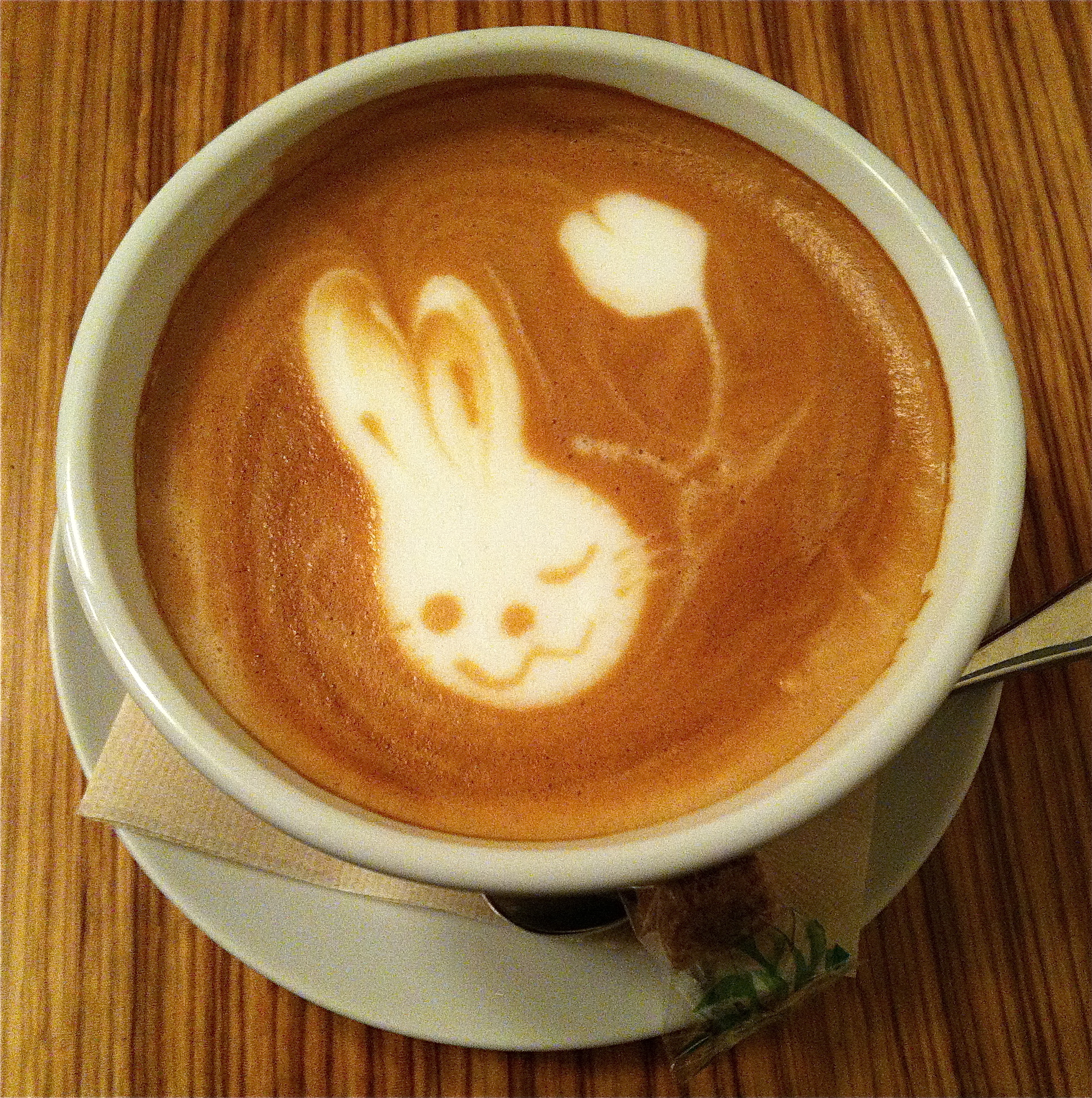 Latte Art Too Adorable To Drink