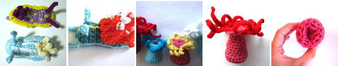 If I learned how to crochet, I could make a whole bunch of retractable sea anemones too!
