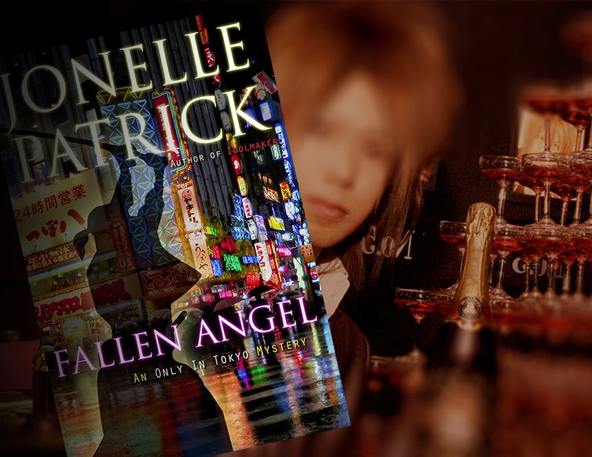 Fallen Angel mystery book at Japanese host club