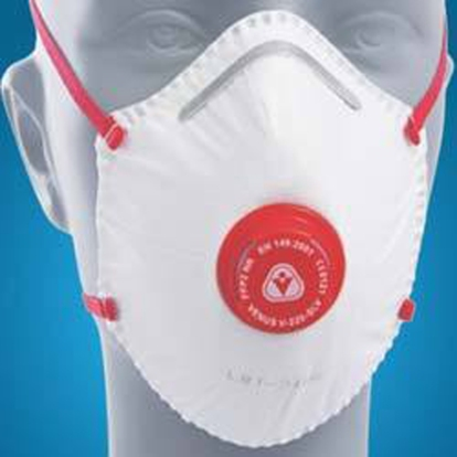 People in Tokyo wear flu masks to avoid spreading or receiving germs from others. The especially germ-phobic character in the book wears a fancy one like this.