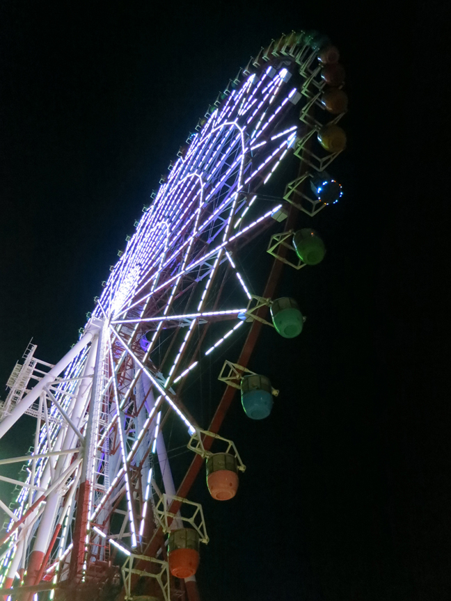 The Ferris wheel becomes a sinister meeting place...