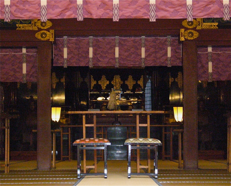 Many weddings have been performed over the centuries before the shrine's altar.