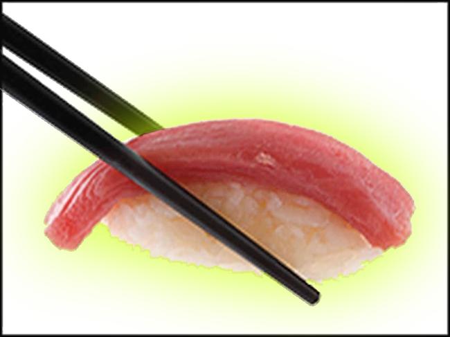 Radioactive sushi