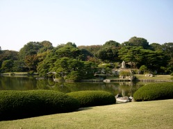 Rikugi-en garden is a beautiful place to stroll and talk about difficult subjects.