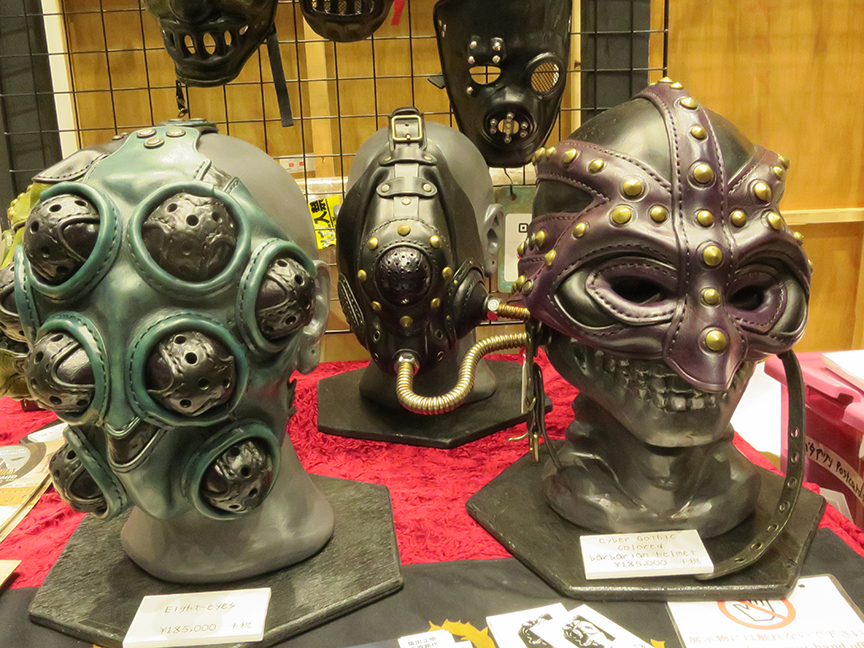...or get your scaryface on with a retro-apocalypse mask.
