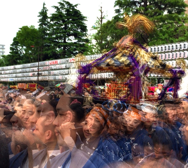 Every spring, the good citizens of Asakusa break out the saké & festival coats – and shed their pants – to carry the local gods through the streets in elaborate portable gold shrines.