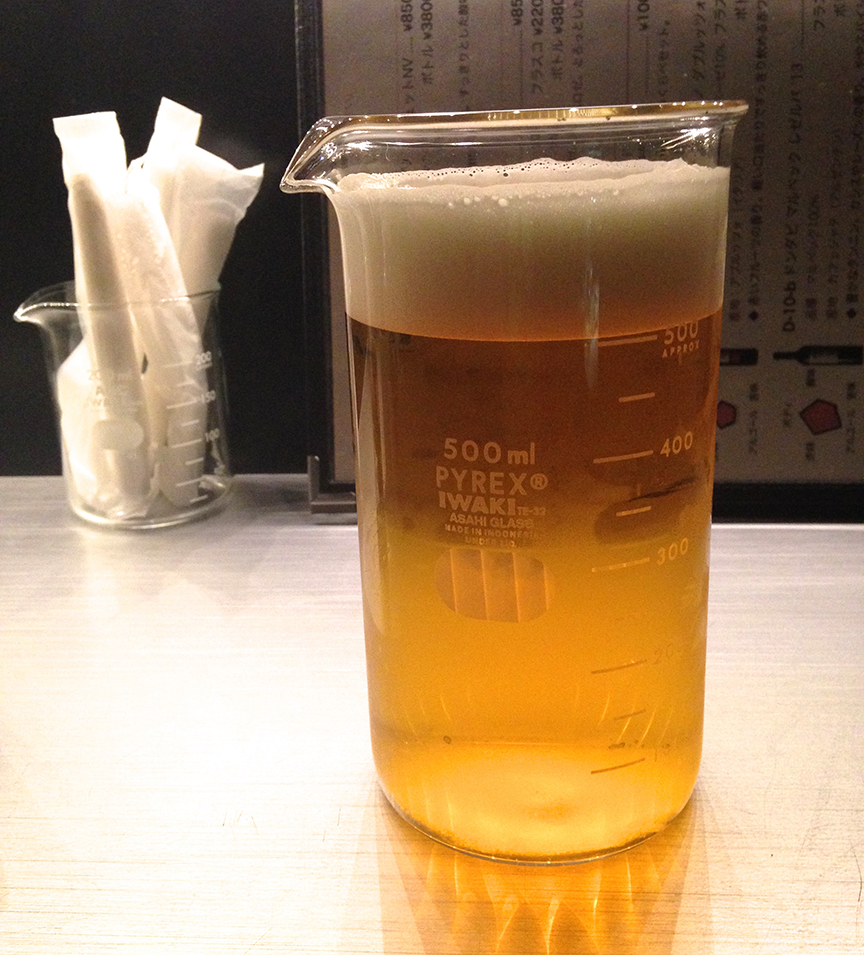 It pays to drink that beer quickly, before it begins to resemble a beaker full of some other...yellow...stop, don't go there. Just...don't go there.