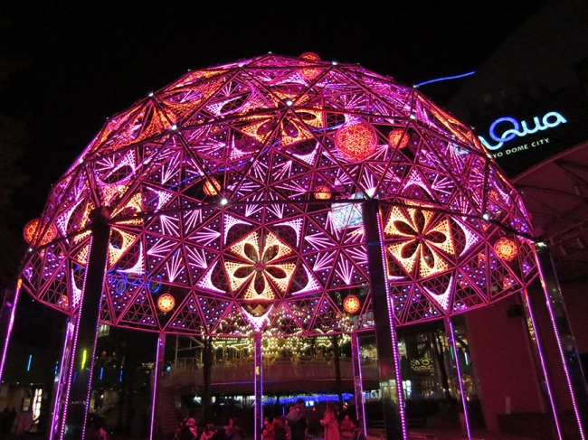 This dome puts on an everchanging light show