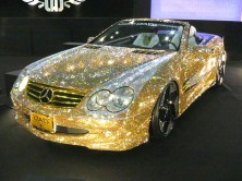 Hostly favorite DAD brought gold and silver twinklemobiles, completely paved with crystals...