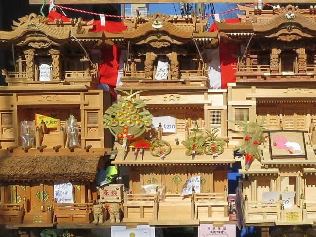 Shinto household shrines made of yukusugi cedar