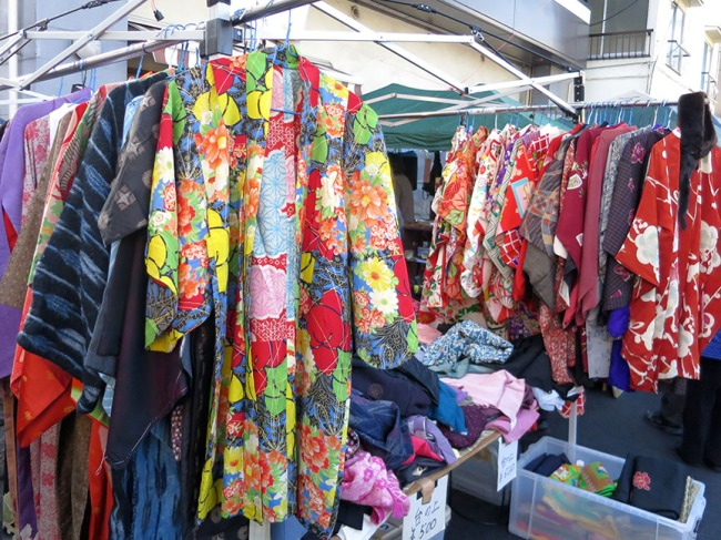 Kimonos of yore and not-so-yore