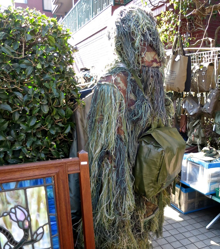 And of course, military surplus wookie suits