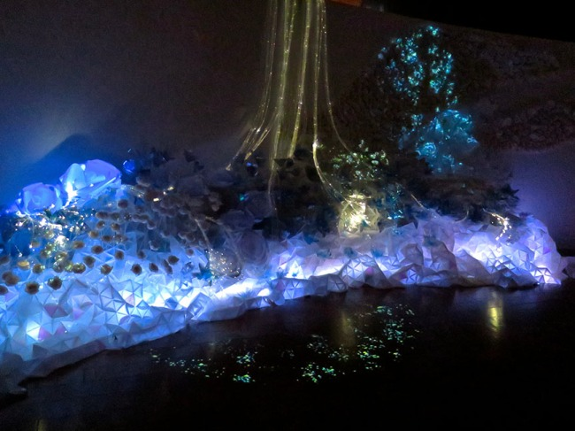 This little piece of fairyland is impossible to capture in a still – watch the video to see it sparkle and come to life!