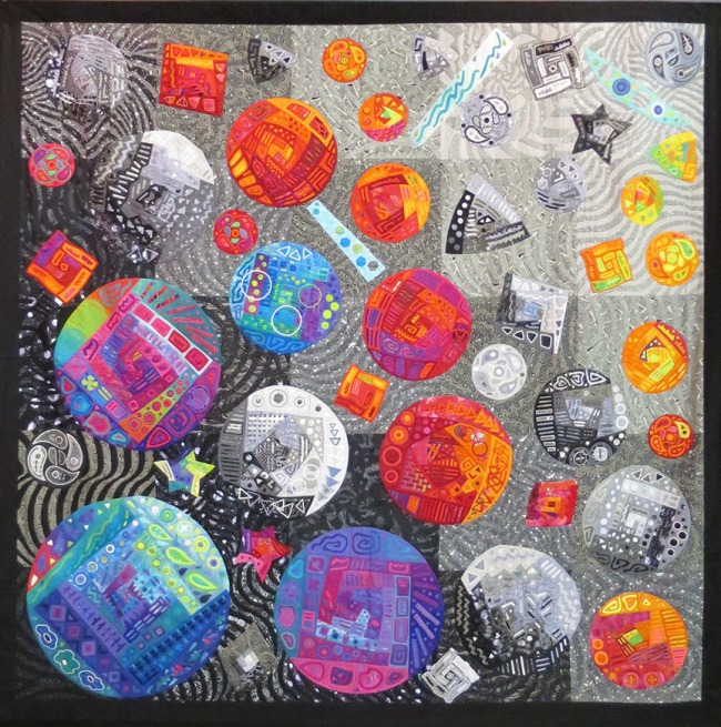 """Flowers Of The Cosmos"" by Fumiko Nakayama"
