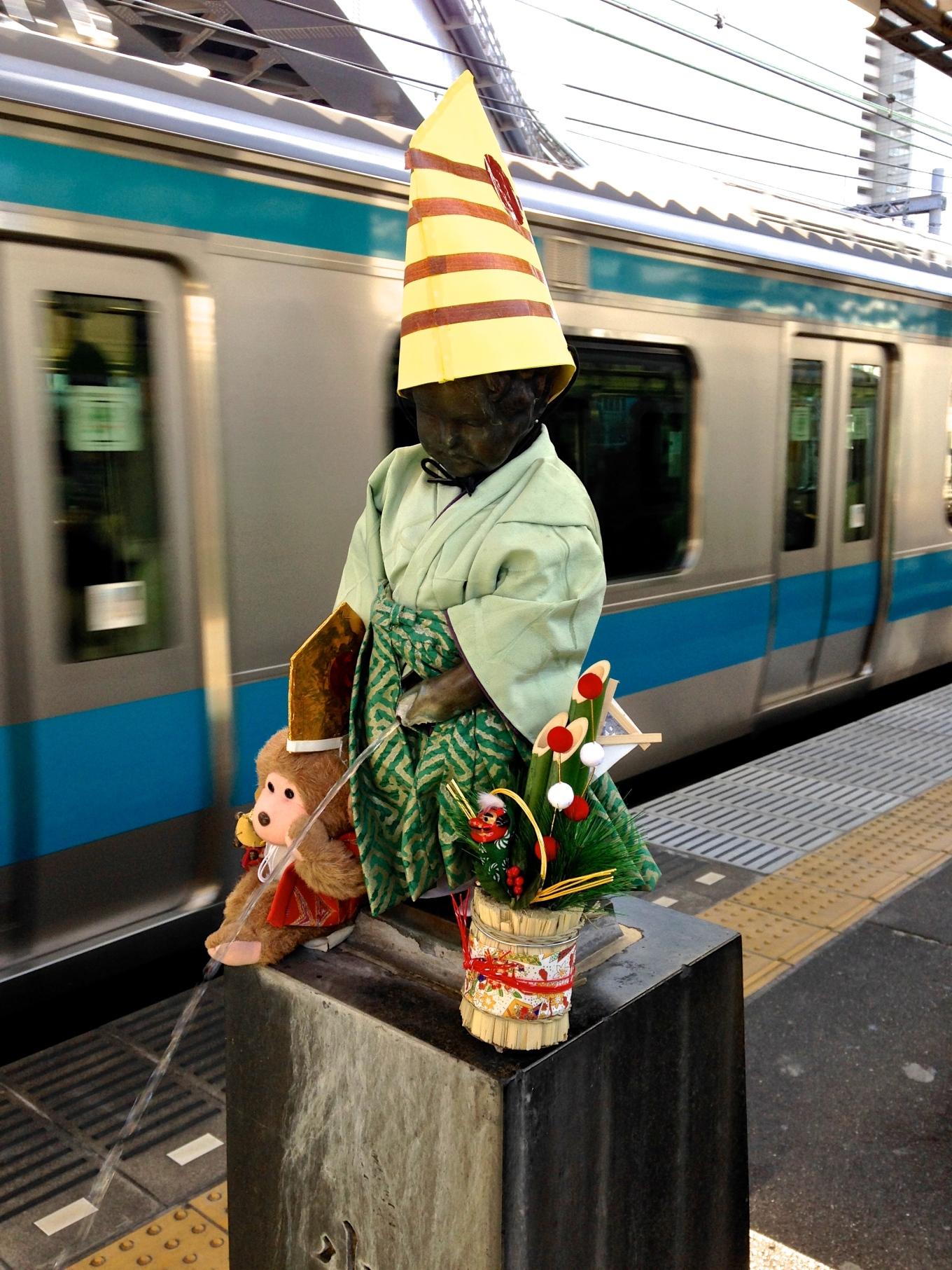 January 2016: Samurai ushering in the Year of the Monkey