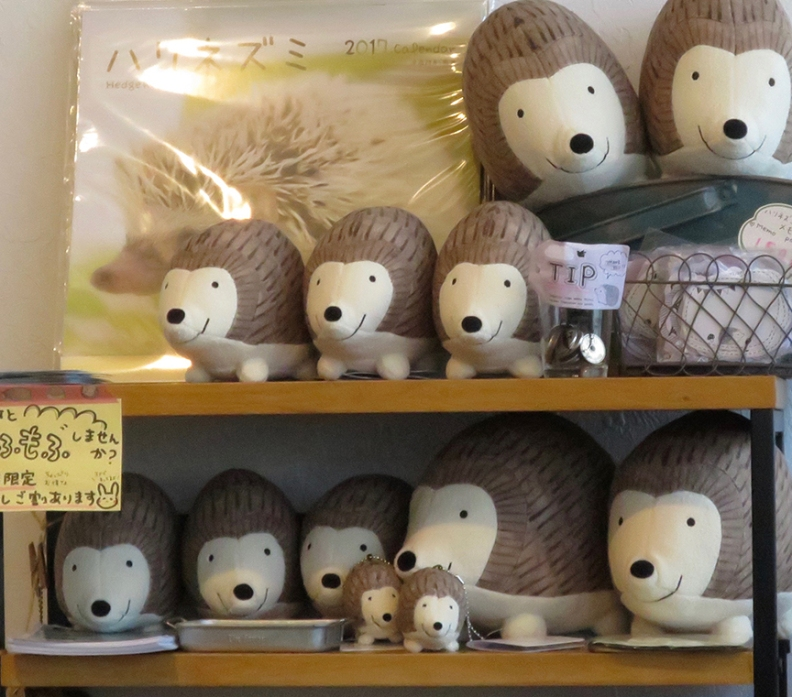 ...although the stuffies didn't quite capture that authentic spiny experience