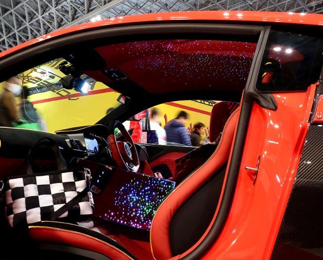 tokyo auto salon constellation ceiling