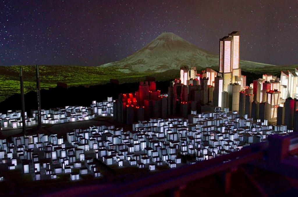Small Worlds Tokyo Megalopolis Tokyo-3 Evangelion model