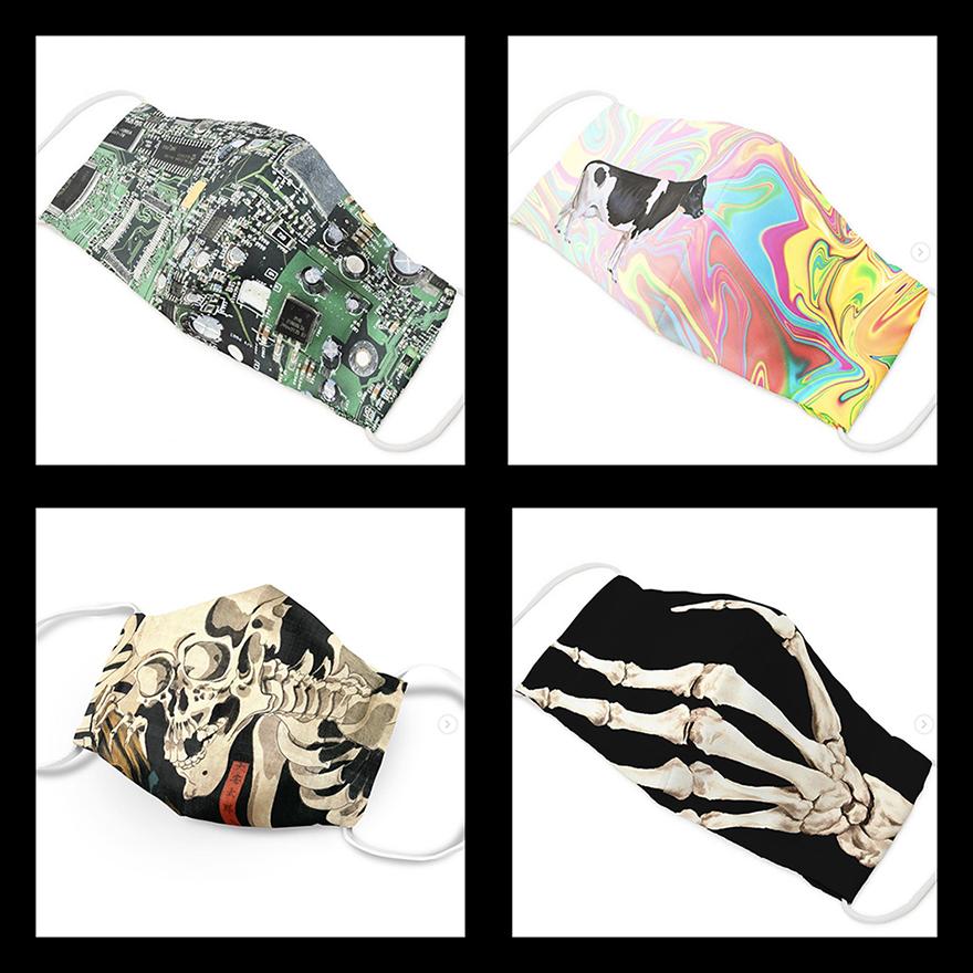 Fashionable face masks from Gofukuyasan