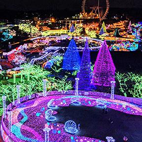 Jewellumimation lights at Yomiuriland