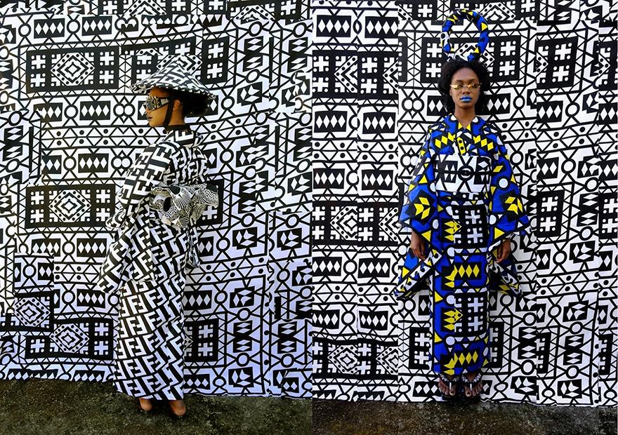 Uber Dandy Kimono Amazwe kimono ensembles