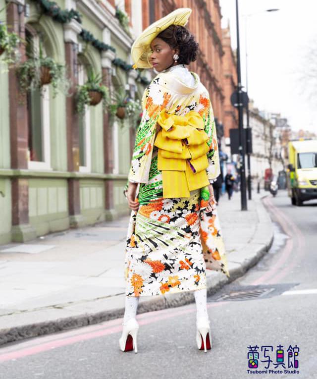 Uber Dandy Kimono photo styling