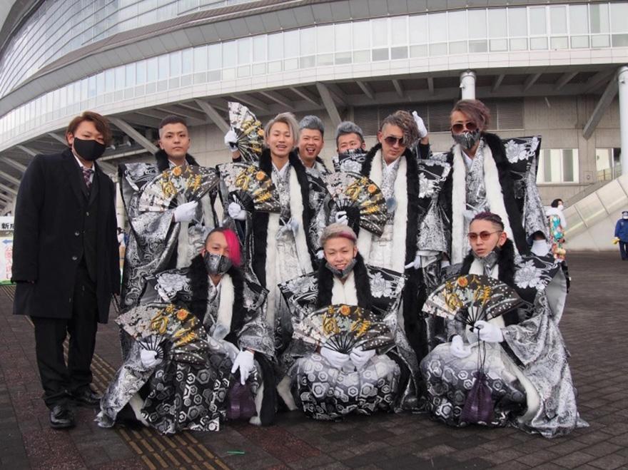 Outlandish costumes on Kitakyushu's Seijinshiki no hi coming of age day from SoraNews24
