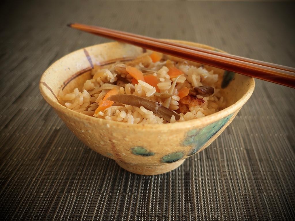 Takikomi Gohan Japanese treasure rice